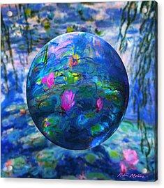 Watermark Acrylic Print by Robin Moline
