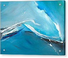 Wave Action Acrylic Print by Michelle Wiarda