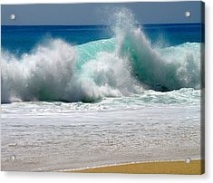 Wave Acrylic Print by Karon Melillo DeVega