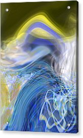 Wave Theory Acrylic Print by Richard Thomas