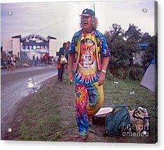 Wavy Gravy At Woodstock Acrylic Print by Chuck Spang