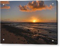 Wawamalu Beach Sunrise - Oahu Hawaii Acrylic Print by Brian Harig