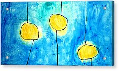 We Make A Family - Abstract Art By Sharon Cummings Acrylic Print by Sharon Cummings