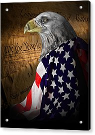 We The People Acrylic Print by Tom Mc Nemar