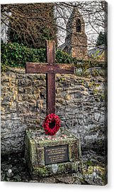 We Will Remember Acrylic Print by Adrian Evans
