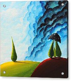 Weather Change Acrylic Print by Nirdesha Munasinghe