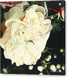 Wedding Belle Acrylic Print by Edythe Alexander