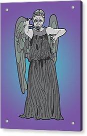 Weeping Angel Acrylic Print by Jera Sky