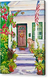 Welcome Home Acrylic Print by Michelle Wiarda