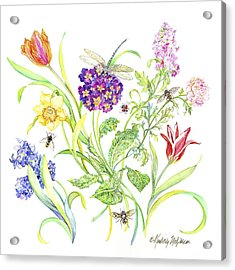 Welcome Spring I Acrylic Print by Kimberly McSparran