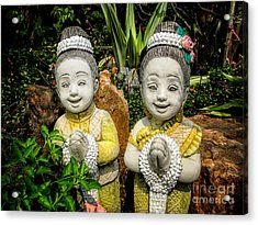 Welcome To Thailand Acrylic Print by Adrian Evans