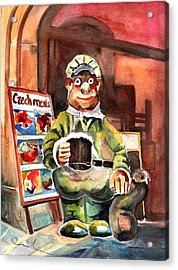 Welcome To The Czech Republic 04 Acrylic Print by Miki De Goodaboom