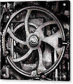 Welcome To The Machine Acrylic Print by Olivier Le Queinec