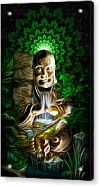Well Of The Heart Acrylic Print by Jalai Lama