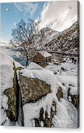 Welsh Rock Acrylic Print by Adrian Evans