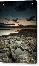 Welsh Seascape Acrylic Print by Andy Astbury