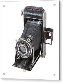 Welta Garant German Camera Acrylic Print by Paul Cowan