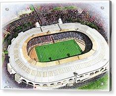 Wembley Stadium Acrylic Print by Kevin Fletcher