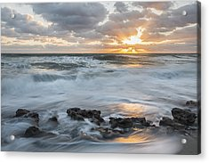 We're All Acrylic Print by Jon Glaser