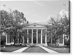 Wesleyan University Olin Library Acrylic Print by University Icons