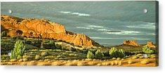 West Of Moab Acrylic Print by Paul Krapf