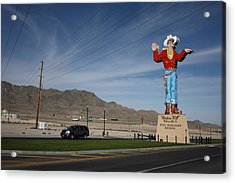 West Wendover Nevada Acrylic Print by Frank Romeo