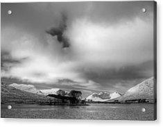 Wester Ross Winter  Acrylic Print by Derek Beattie
