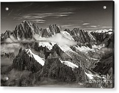 Western Alps - Panorama Acrylic Print by Juergen Klust