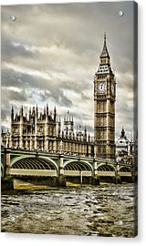 Westminster Acrylic Print by Heather Applegate