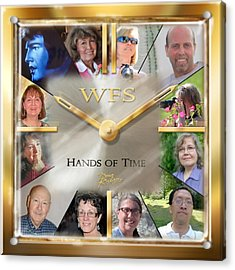 Wfs Hands Of Time Acrylic Print by Doug Kreuger