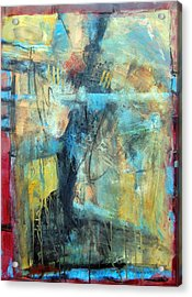 What Lies Beneath Acrylic Print by Ron Stephens