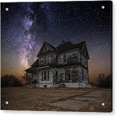 What Once Was Acrylic Print by Aaron J Groen