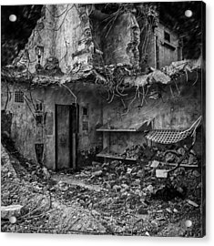 What Was Once A Prison  Acrylic Print by Bob Orsillo