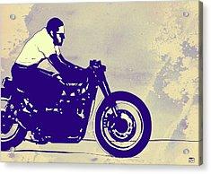 Wheels Acrylic Print by Giuseppe Cristiano