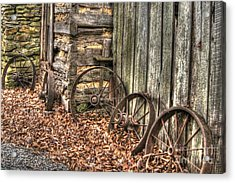 Wheels Of Time Two Acrylic Print by Benanne Stiens