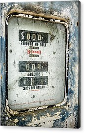 When Gas Made Cents Acrylic Print by Caitlyn  Grasso