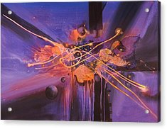 When Planets Align Acrylic Print by Tom Shropshire