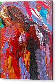 When You Least Expect Me Acrylic Print by Judith Redman