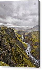 Where Do I Look Acrylic Print by Jon Glaser