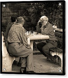 Where Is Bobby Fischer Acrylic Print by Madeline Ellis