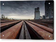 Where It Goes-2 Acrylic Print by Fran Riley