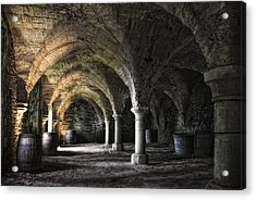 Where The Monks Once Pressed The Wine Acrylic Print by Joachim G Pinkawa