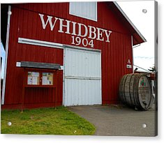 Whidbey's Greenbank Farm Acrylic Print by Kay Gilley