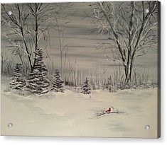 Whipple Lake Acrylic Print by Valorie Cross