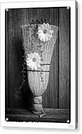Whisk Bloom - Art Unexpected Acrylic Print by Tom Mc Nemar
