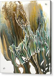 Whisper Acrylic Print by Karina Llergo