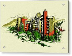 Whistler Art 004 Acrylic Print by Catf