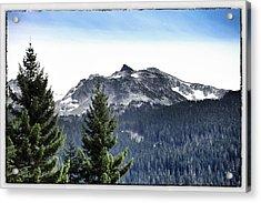 Whistler Mountain Acrylic Print by Jim Nelson