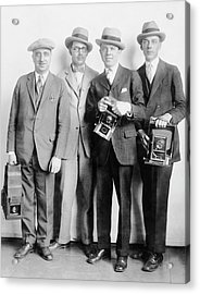 White House News Photographers Acrylic Print by Library Of Congress