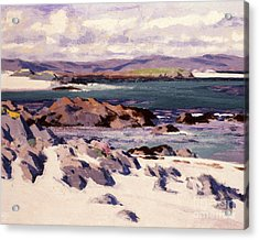 White Sands   Iona  Acrylic Print by Francis Campbell Boileau Cadell